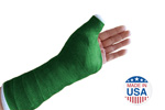 Green Fiberglass Cast Tape