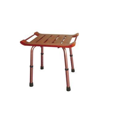 adjustable teak bath bench (r)