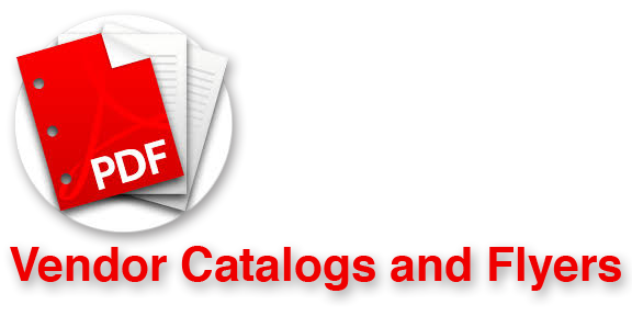 Manufacturer Catalogs and Flyers