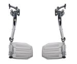 Chrome Swing Away Footrests