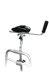 Bariatric Walker/Crutch Attachment (500lb limit)
