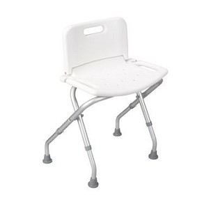 Folding Bath Bench w/Backrest